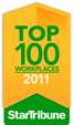 Star Tribune Top 100 Workplaces 2011